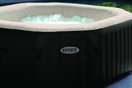 intex pure spa deluxe octagon whirlpool aufblasbar mit jets und bubble 4 person 78257284542 ebay. Black Bedroom Furniture Sets. Home Design Ideas