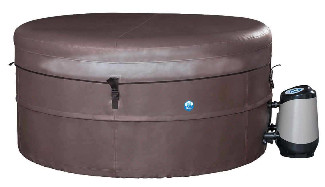 Whirlpool Bad Kwaliteit : Netspa vita whirlpool pool spa badewamme für 6 personen rund