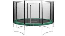 Trampoline met veiligheidsnet 427 - 430 cm