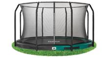 Ingraaf trampoline met veiligheidsnet